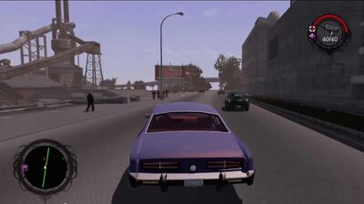 Different HUD in Making of Saints Row mini Documentary