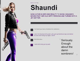 Saints Row website - Gangs - The Saints - Shaundi