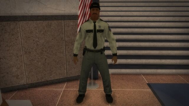 File:Security Guard inside courthouse.jpg