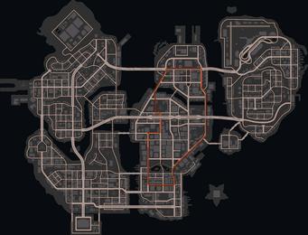Virtual Steelport - high resolution map