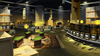 Marshall Winslow Recreation Center - Ronin basement casino concept art