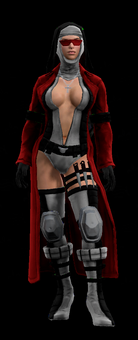 SRTT Outfit - bloody canoness (female)