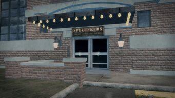 Spelunkers - exterior front door