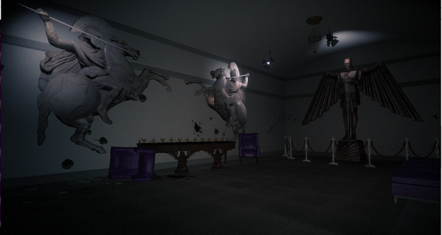 File:Destroyed White Crib - oval office corridor with statues.png