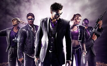 Saints Row The Third Promo Saints with Killbane