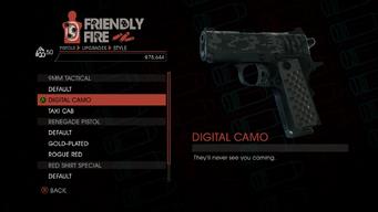 Weapon - Pistols - Quickshot Pistol - 9MM Tactical - Digital Camo