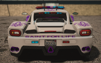 Saints Row IV variants - Peacemaker saints - rear