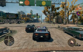 Assassination tutorial text in Saints Row The Third