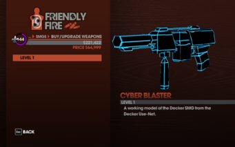 Cyber Blaster - Level 1 description