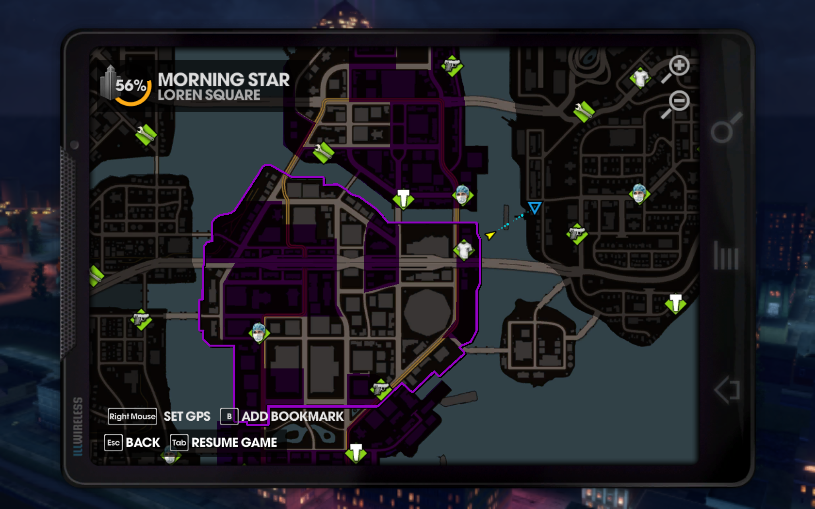 Saints Row The Third Gang Operations Map – HD Wallpapers