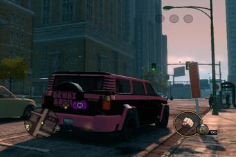 Kayak - Genki variant rear right parked in Saints Row The Third