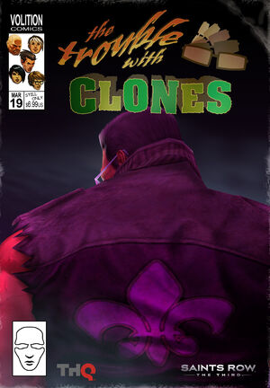 The Trouble With Clones comic cover