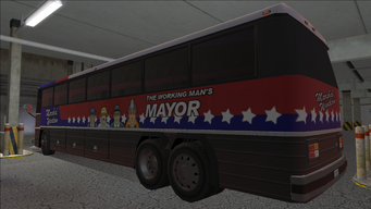 Saints Row variants - Winslow Bus - Winslow - rear left