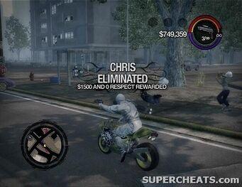Hitman - Chris Eliminated