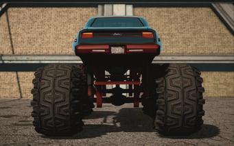 Saints Row IV variants - Bootlegger XL Chopshop - rear
