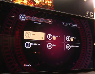 Gat out of Hell Gameplay Demo 0248 Menu with only 6 options