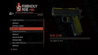 Weapon - Pistols - Quickshot Pistol - 9MM Tactical - Taxi Cab