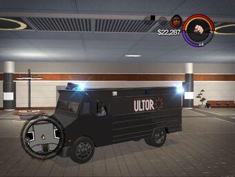 Peacekeeper - ultor variant - front left in Saints Row 2