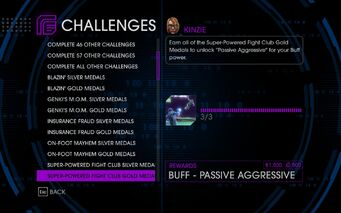 Challenge 19 Super-Powered Fight Club Gold Medals