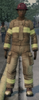 Fireman - red helmet