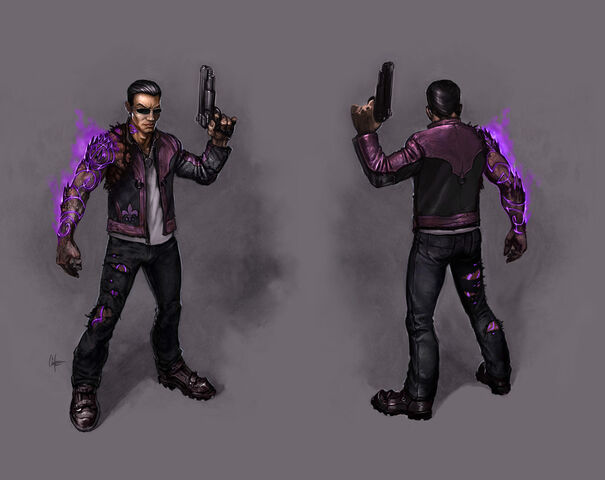 File:Johnny Gat Concept Art - Gat out of Hell - purple demon arm.jpg