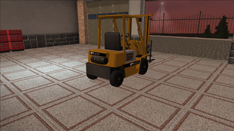 Saints Row variants - Forklift - standard - rear right