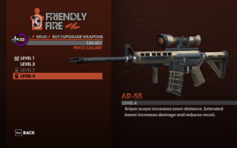 AR-55 Level 4 description
