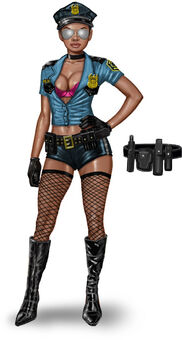 Concept art of Stripper in Saints Row The Third