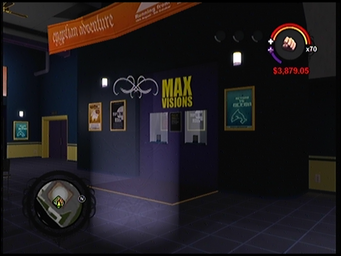 Max Visions Theater marker in Saints Row