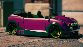 Halberd - Mascot variant - front right in Saints Row IV
