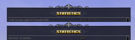 Smoked stats