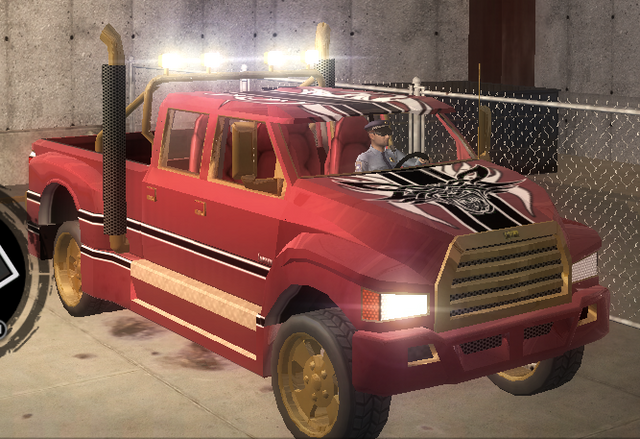 File:Brotherhood Compensator with Unique Hitch - front right in Saints Row 2.png