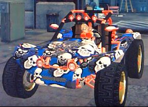 Mongoose with skull decal in Saints Row 2