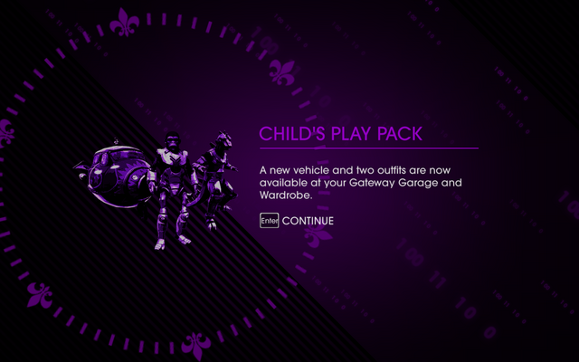 File:Saints Row IV DLC Unlock - Child's Play Pack.png