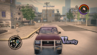 Varsity - front with logo in Saints Row 2