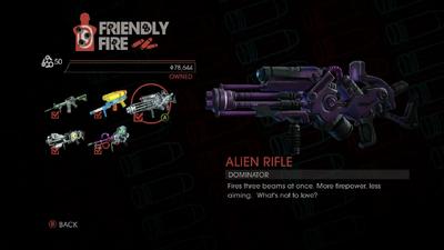 Weapon - Rifles - Alien Rifle - Main