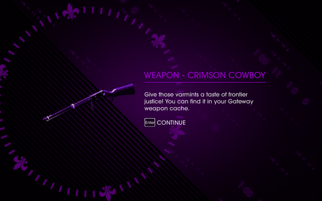 File:HtSSC Miracle on 3rd Street reward1, weapon - crimson cowboy.png