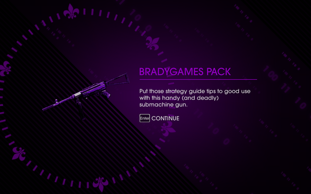 File:Saints Row IV DLC Unlock - Bradygames Pack.png