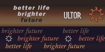 Ultor other scrolling signs