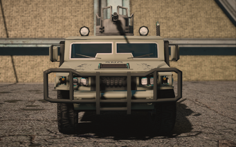 Saints Row IV variants - Bulldog (turret) Military - front
