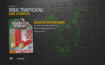 Unlimited Shotgun Ammo unlocked SR2