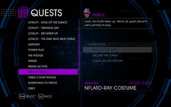 Quests Menu - Back To Basics