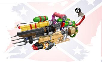 Hillbilly 'Merica Gun Concept Art