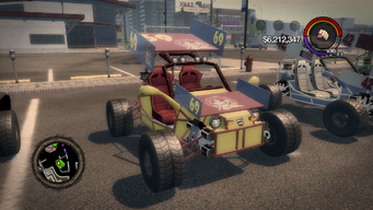 Mongoose - Freckle Bitch's variant in Saints Row 2