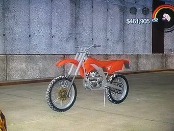 Sandstorm - front left on stand in Saints Row 2
