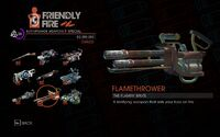 Flamethrower in Saints Row IV