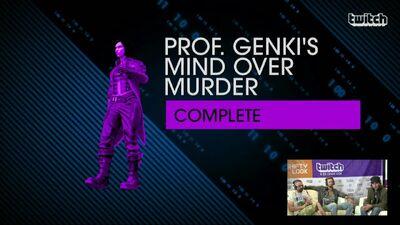 Genki's mom named on-screen in livestream