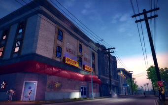 Poseidon Alley in Saints Row 2 - Grocery store