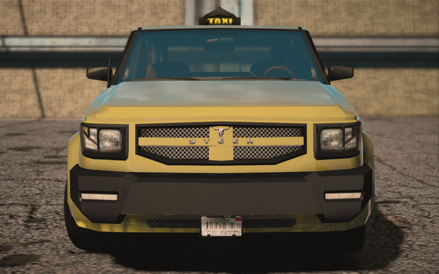 File:Saints Row IV variants - Kayak Taxi BW - front.png