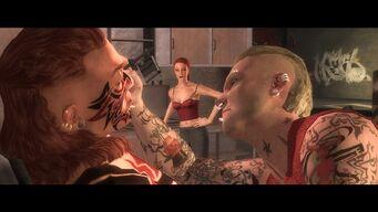 Waste Not Want Not - Matt tattooing Maero while Jessica watches